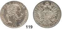 Österreich - Ungarn,Habsburg - Lothringen Franz Josef I. 1848 - 1916Gulden 1867 A, Wien.  Frühwald 1484.