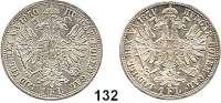 Österreich - Ungarn,Habsburg - Lothringen Franz Josef I. 1848 - 1916Gulden 1870 und 1871 A, Wien.  Frühwald 1489 und 1490.  LOT 2 Stück.