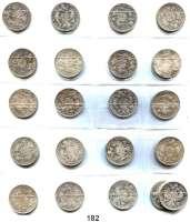 Österreich - Ungarn,Habsburg - Lothringen Franz Josef I. 1848 - 1916Gulden 1872 bis 1892.  Frühwald 1492 bis 1512.  LOT 21 Stück.