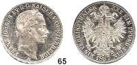 Österreich - Ungarn,Habsburg - Lothringen Franz Josef I. 1848 - 1916Vereinstaler 1857 A, Wien.  Frühwald 1392.  Kahnt 352.  Jl. 312.  Dav. 21.
