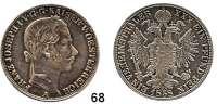 Österreich - Ungarn,Habsburg - Lothringen Franz Josef I. 1848 - 1916Vereinstaler 1858 A, Wien.  Frühwald 1396.  Kahnt 352.  Jl. 312.  Dav. 21.