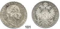 Österreich - Ungarn,Habsburg - Lothringen Franz Josef I. 1848 - 1916Vereinstaler 1864 B, Kremnitz.  Frühwald 1419.  Kahnt 352.  Jl. 312.  Dav. 21.
