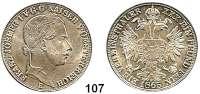Österreich - Ungarn,Habsburg - Lothringen Franz Josef I. 1848 - 1916Vereinstaler 1865 E, Karlsburg.  Frühwald 1424.  Kahnt 352.  Jl. 312.  Dav. 21.
