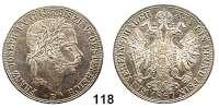 Österreich - Ungarn,Habsburg - Lothringen Franz Josef I. 1848 - 1916Vereinstaler 1867 B, Kremnitz.  Frühwald 1430.  Kahnt 353.  Jl. 316.  Dav. 26.