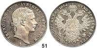 Österreich - Ungarn,Habsburg - Lothringen Franz Josef I. 1848 - 1916Konventionstaler 1854 A, Wien.  Frühwald 1352.  Kahnt 350.  Jl. 296.  Dav. 17.