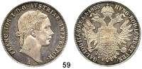 Österreich - Ungarn,Habsburg - Lothringen Franz Josef I. 1848 - 1916Konventionstaler 1855 A, Wien.  Frühwald 1353.  Kahnt 350.  Jl. 296.  Dav. 17.