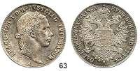 Österreich - Ungarn,Habsburg - Lothringen Franz Josef I. 1848 - 1916Konventionstaler 1856 A, Wien.  Frühwald 1354.  Kahnt 350.  Jl. 296.  Dav. 17.