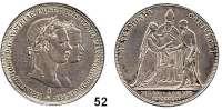 Österreich - Ungarn,Habsburg - Lothringen Franz Josef I. 1848 - 1916Konventionstaler (Doppelgulden) 1854 A, Wien.  Hochzeit.  Frühwald 1901.  Jl. 300.  Dav. 19.