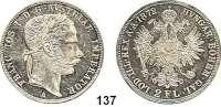Österreich - Ungarn,Habsburg - Lothringen Franz Josef I. 1848 - 1916Doppelgulden 1872 A, Wien.  Frühwald 1370.