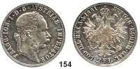 Österreich - Ungarn,Habsburg - Lothringen Franz Josef I. 1848 - 1916Doppelgulden 1881, Wien.  Frühwald 1380.