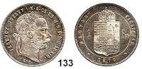 Österreich - Ungarn,Habsburg - Lothringen Franz Josef I. 1848 - 1916Forint 1870 G.Y.F., Karlsburg.  Frühwald 1772.