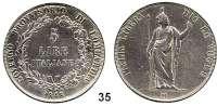 Österreich - Ungarn,Habsburg - Lothringen Revolution 1848 - 18495 Lire 1848 M, Mailand.  Frühwald 1090.  Jl. 277.