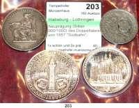 Österreich - Ungarn,Habsburg - Lothringen Franz Josef I. 1848 - 1916Neuprägung (Silber 900/1000) des Doppeltalers von 1857