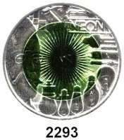 AUSLÄNDISCHE MÜNZEN,E U R O  -  P R Ä G U N G E N Österreich 25 Euro 2008 (Bi-Metall Silber/Niob).  Faszination Licht.  Schön 352.  KM 3158.  Im Originaletui mit Zertifikat.