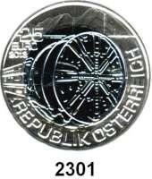 AUSLÄNDISCHE MÜNZEN,E U R O  -  P R Ä G U N G E N Österreich 25 Euro 2013 (Bi-Metall Silber/Niob).  Tunnelbau.   Schön 402.  KM 3217.  Im Originaletui mit Zertifikat.