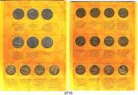 AUSLÄNDISCHE MÜNZEN,Polen LOTS   LOTS   LOTS Sammelmappe (Fischer) mit 63 verschiedenen 2 Zlote-Münzen von 1995 bis 2003.