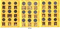 AUSLÄNDISCHE MÜNZEN,Polen LOTS   LOTS   LOTS Sammelmappe (Fischer) mit 27 verschiedenen Münzen von 1964 bis 2005.  2 Zlote bis 20.000 Zlotych.