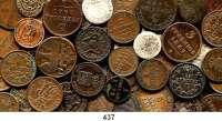 Deutsche Münzen und Medaillen,L O T S     L O T S     L O T S  LOT von 77 altdeutschen Kleinmünzen.  Meist Kupfermünzen des 19. Jahrhunderts.