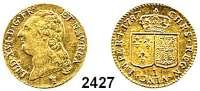 AUSLÄNDISCHE MÜNZEN,Frankreich Ludwig XVI. 1774 - 1793 Louis d'or 1787 I Limoges.  7,64 g.  Duplessy 1707.   Fb. 475.  KM 591.7.  GOLD
