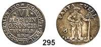 Deutsche Münzen und Medaillen,Braunschweig - Wolfenbüttel August Wilhelm 1714 - 1731 6 Mariengroschen 1730 EPH Feinsilber, Zellerfeld.  3,18 g.  Welter 2396.  Schön 110.
