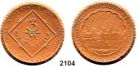 P O R Z E L L A N M Ü N Z E N,Münzen von anderen Deutschen Keramischen Fabriken Dresden3 Mark o.J.(1921) braun.  A. Eckard.  Menzel 5549.15.