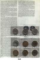 Deutsche Demokratische Republik   PP-Patina !!!!!, 5 Mark 1969.    20 Jahre DDR.  LOT von 9 Münzen in verschiedenen Materialien und Gewichten.
