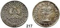 Deutsche Münzen und Medaillen,Aachen, Stadt Franz I. 1745 - 1765 32 Mark 1755.  10,47 g.  Menadier 12 a.  Schön 17.  Wertzahl 32 auf dem Brustschild.