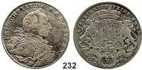 Deutsche Münzen und Medaillen,Brandenburg - Bayreuth Friedrich Christian 1763 - 1769 1/2 Taler 1766 E-S, Bayreuth.  13,2 g.  Slg. Wilm. 800.  Slg. Grüber 4045.  Schön 124.
