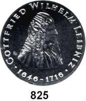 Deutsche Demokratische Republik   PP-Patina !!!!!, 20 Mark 1966.  Leibniz.  Aluminiumabschlag der Vorderseite.