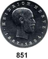 Deutsche Demokratische Republik   PP-Patina !!!!!, 5 Mark 1969.   Hertz.  Aluminiumabschlag der Vorderseite.