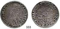 Deutsche Münzen und Medaillen,Halberstadt, Bistum Albrecht V. von Brandenburg 1513 - 1545 Taler 1544.  28,96 g.   Dav. 9210.  Schulten 1035.