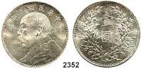 AUSLÄNDISCHE MÜNZEN,China Republik Dollar, Jahr 9 (1920).  Schön 33.  Y 329.6.