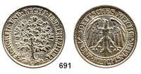 R E I C H S M Ü N Z E N,Weimarer Republik 5 Reichsmark 1930 G.  Eichbaum.