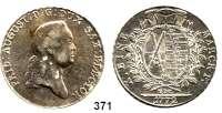 Deutsche Münzen und Medaillen,Sachsen Friedrich August III. 1763 - 1806 (1827) Taler 1772 EDC, Dresden.  27,96 g.  Kahnt 1074.  Buck 139.  Dav.2690.