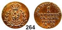 Deutsche Münzen und Medaillen,Preußen, Königreich Friedrich Wilhelm III. 1797 - 1840 Prägungen für das Großherzogtum Posen,  1 Groschen 1816 A, Berlin.  Jaeger 161.  AKS 53.  Old. 156.