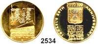 AUSLÄNDISCHE MÜNZEN,Israel  100 Lirot 1973.  (12,15g fein).  25 Jahre Staat Israel.  Schön 66.  KM 73.  Fb. 10.  GOLD