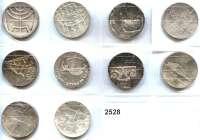 AUSLÄNDISCHE MÜNZEN,Israel  5 Lirot 1958 bis 1967.  LOT 10 Stück.  Darunter 1963