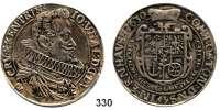 Deutsche Münzen und Medaillen,Eggenberg zu Ehrenhausen Johann Ulrich 1623 - 1634 Taler 1630, Prag.  28,6 g.  Dav. 3383.