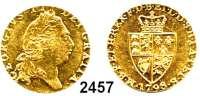 AUSLÄNDISCHE MÜNZEN,Großbritannien Georg III. 1760 - 1820 Guinea 1798.  8,40 g.  Spink 3729.  KM 609.  Fb. 356.  GOLD
