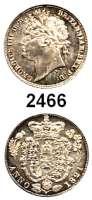 AUSLÄNDISCHE MÜNZEN,Großbritannien Georg IV. 1820 - 1830 Sixpence 1821.  Spink 3813.  Kahnt/Schön 58.  KM 678.