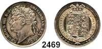 AUSLÄNDISCHE MÜNZEN,Großbritannien Georg IV. 1820 - 1830 Shilling 1825.  Spink 3811.  Kahnt/Schön 63.  KM 687.