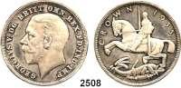 AUSLÄNDISCHE MÜNZEN,Großbritannien Georg V. 1910 - 1936 Crown 1935.  Erhabene Randschrift.  Seaby 4050.  Schön 320.  KM 842.