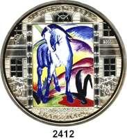 AUSLÄNDISCHE MÜNZEN,Cook Islands  20  Dollars mit aufgeklebten Swarovski-Kristallen 2011.  Meisterwerke der Kunst -