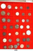 Deutsche Münzen und Medaillen,L O T S     L O T S     L O T S  Tablett mit 38 altdeutschen Kleinmünzen des 18./19. Jahrhundert.  Meist Kupfermünzen.  Darunter Bayern, 1 Gulden 1839; Preußen, 1/24 Taler 1753 F und 1756 F.