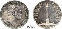 AUSLÄNDISCHE MÜNZEN,Russland Nikolaus I. 1825 - 1855 Rubel 1834, St. Petersburg.  Denkmal für Alexander I.  Bitkin 894.  Cr. 169.