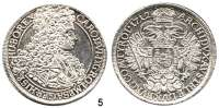 Römisch Deutsches Reich,Haus Habsburg Karl VI. 1711 – 1740 Taler 1712, Wien. 28,76 g. Herinek 288. Voglh. 267/I. Dav. 1035