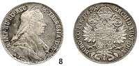 Römisch Deutsches Reich,Haus Habsburg Maria Theresia 1740 – 1780 1/2 Taler 1767 A.S., Hall. 14,01 g. Herinek 660