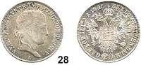 Österreich - Ungarn,Habsburg - Lothringen Ferdinand I., 1835 - 184820 Kreuzer 1846 A, Wien.  Frühwald 832.  Herinek 236.  KM 2208.