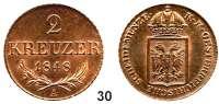 Österreich - Ungarn,Habsburg - Lothringen Ferdinand I., 1835 - 18482 Kreuzer 1848 A, Wien.  Frühwald 1071.  Herinek 381.  KM 2188.