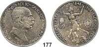 Österreich - Ungarn,Habsburg - Lothringen Franz Josef I. 1848 - 19165 Kronen 1908.  60jähriges Regierungsjubiläum.  Frühwald 2185.  Schön 12.  KM 2809.